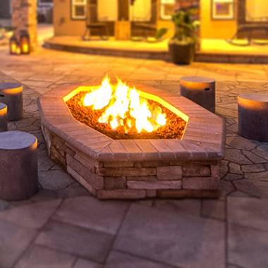 Fire Features in Landscaping & Outdoor Living