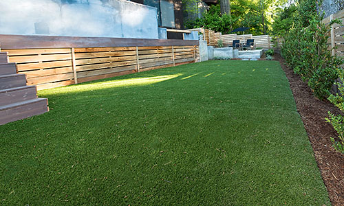 Synthetic Lawn Installations by Paradise Restored Landscaping