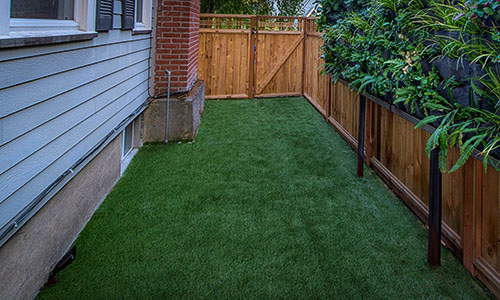 Synthetic Turf Dog Runs by Paradise Restord Landscaping