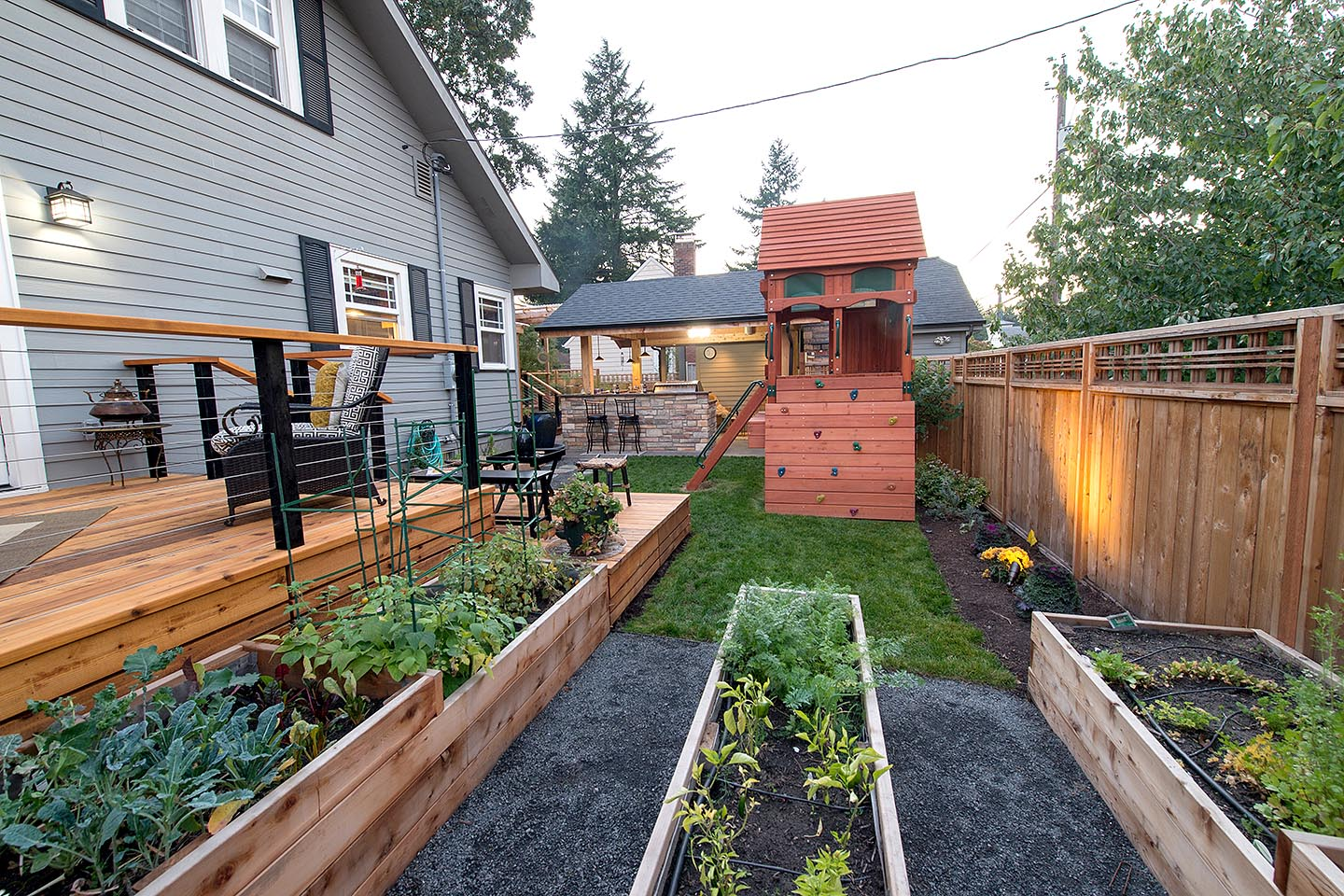 Raised Garden Beds in Landscapes