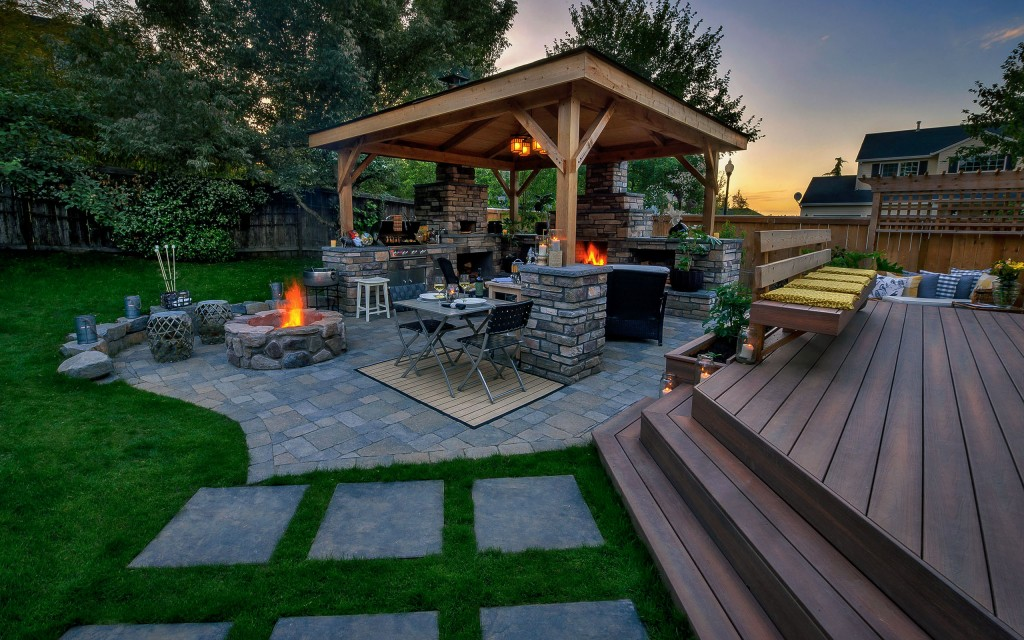 20 Gazebos in Outdoor Living Spaces - Paradise Restored ... on Outdoor Living And Landscapes id=58152