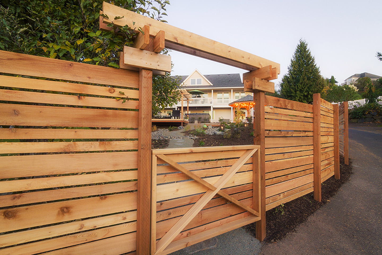 Pergola, Gate & Custom Fence