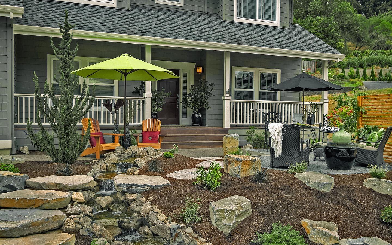 Front Yard Waterfall Ideas - Paradise Restored Landscaping on Front Yard Waterfall Ideas id=80721