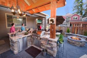 outdoor bars in landscape