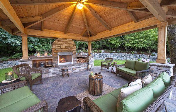 Gazebo Outdoor Living room