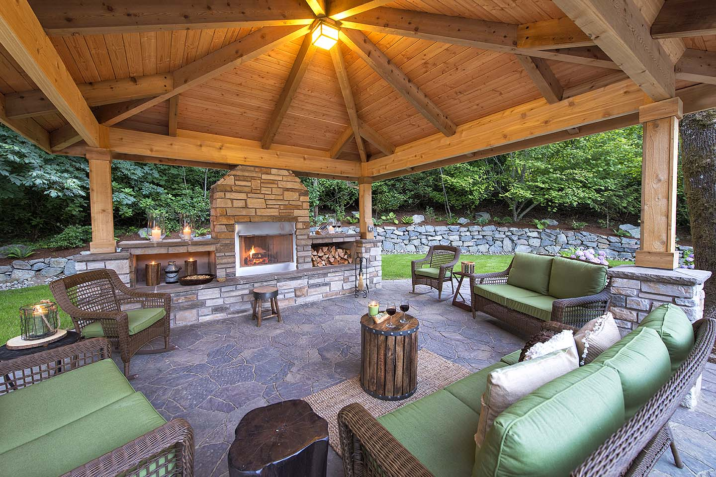 Gazebo Outdoor Living room