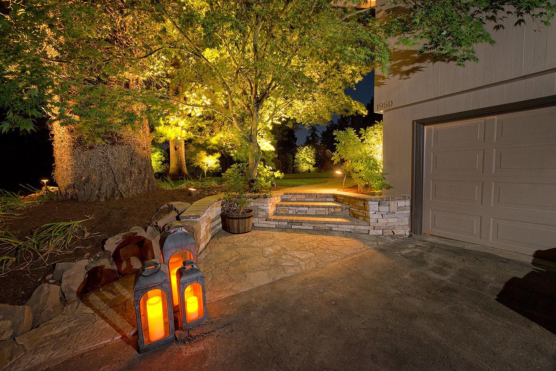 Lighting in Landscape Design