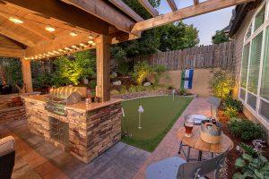 Backyard Gazebo w/Pergola