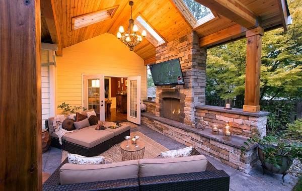 outdoor Shade room