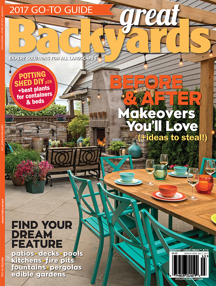 We Made The Cover Of A National Magazine Great Backyards ...