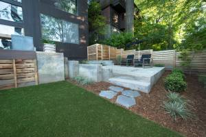 James Property | Portland Oregon | Synthetic Lawn Installation