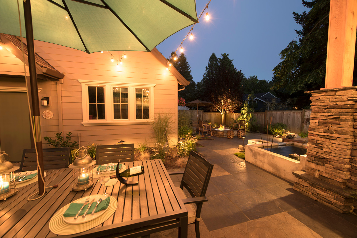 Small Backyard Landscape Design