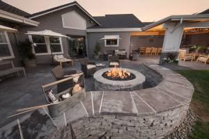 Backyard Living Spaces