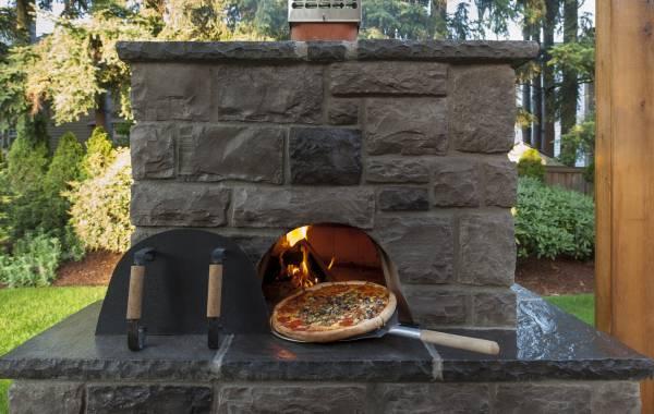 pizza ovens in landscapes