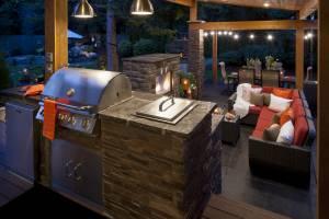 Grill Island & Kitchen Bar