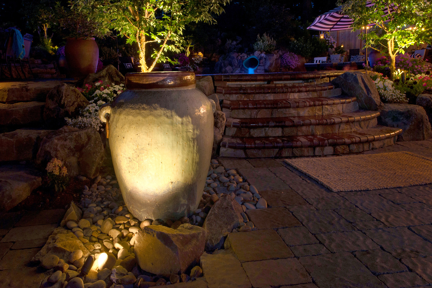 Water feature in Landscape Design