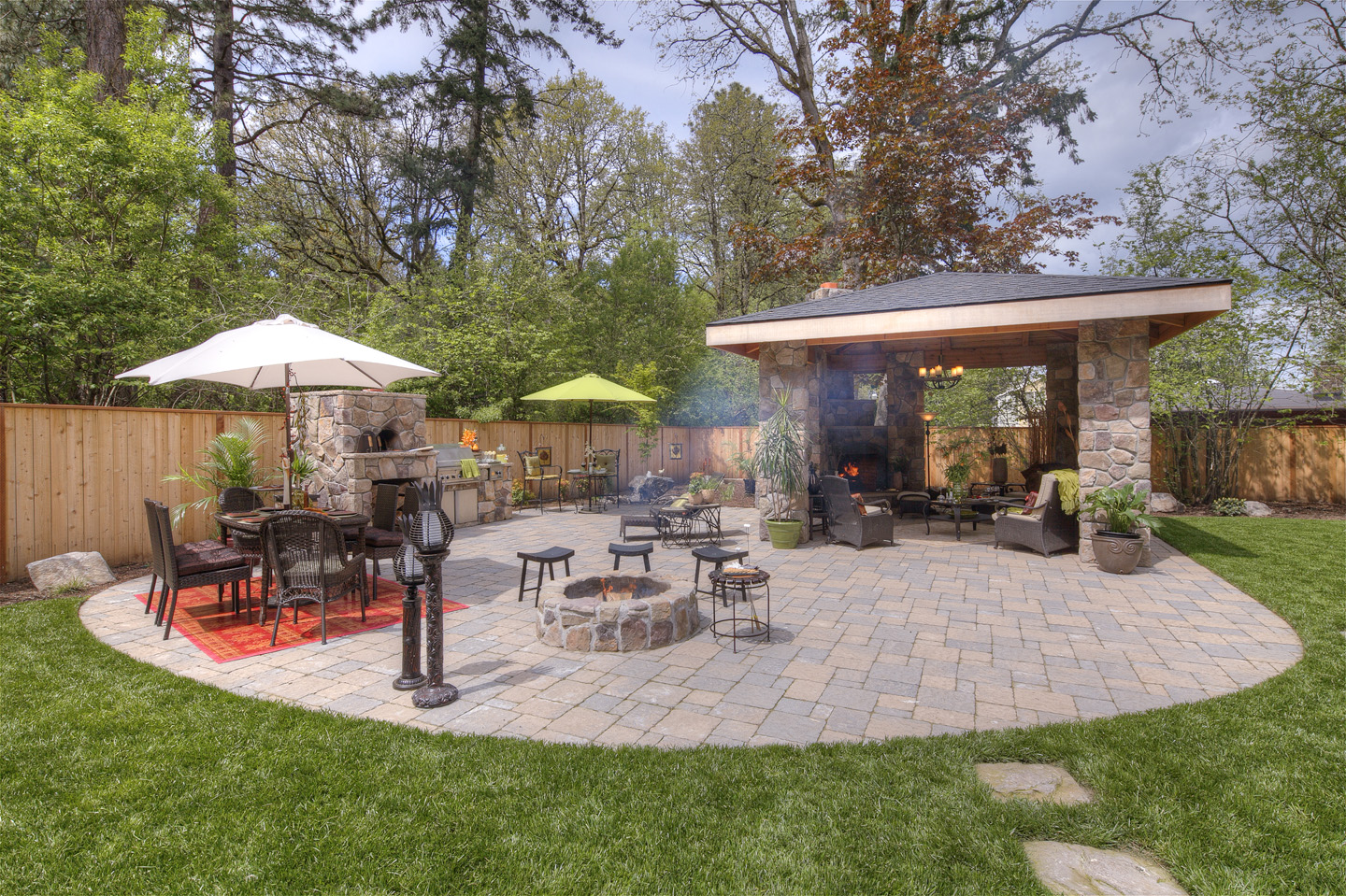 Large Backyard Designs Paradise Restored Landscaping