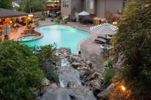 Swimming Pool Waterfall