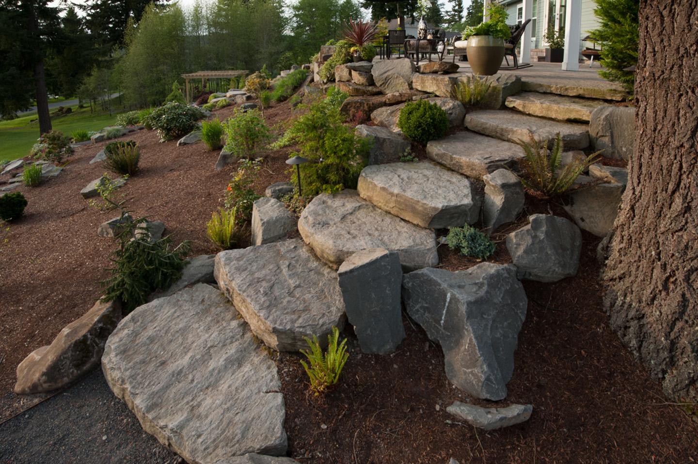 boulder steps
