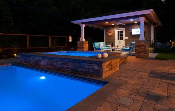 Pool & Spa with Pool