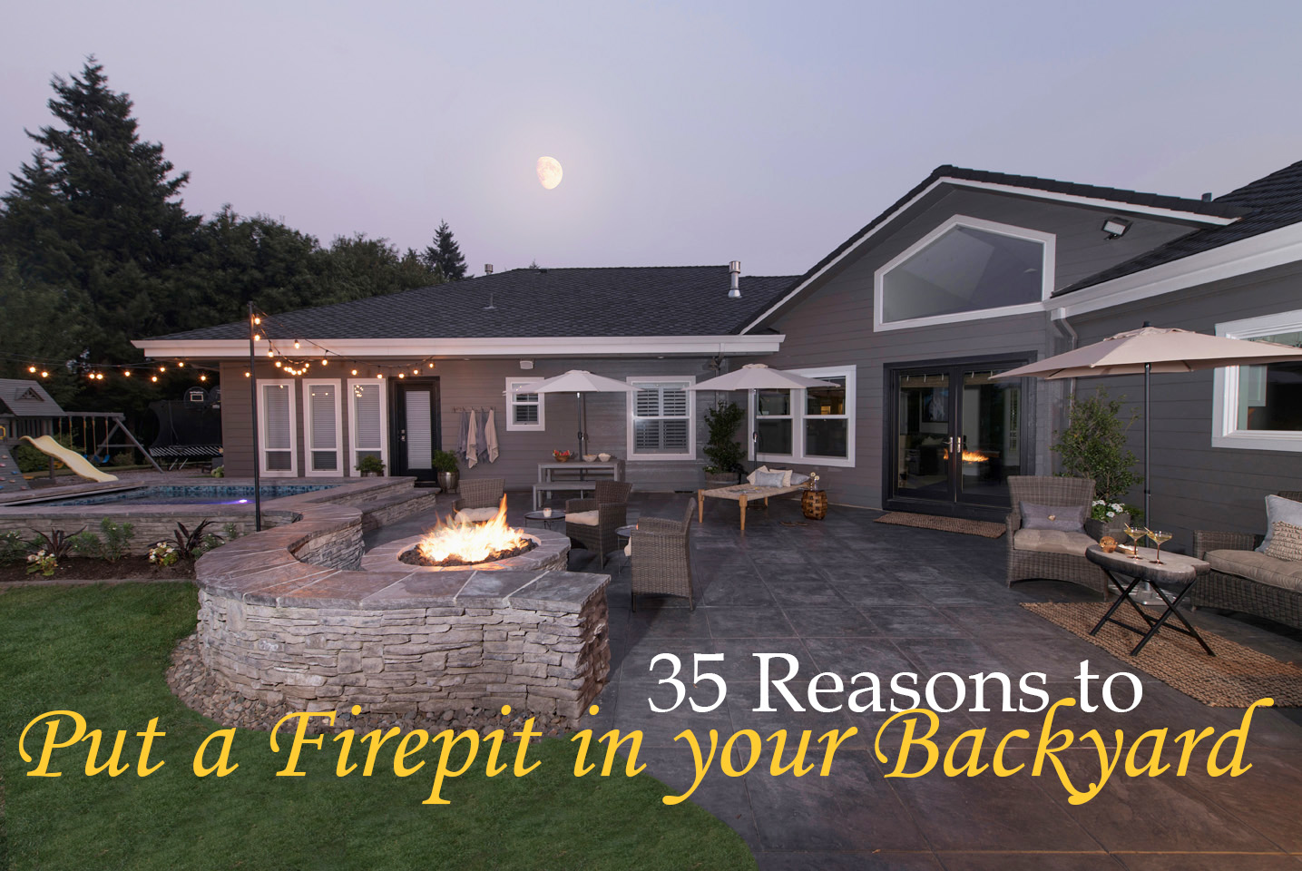 35 Reasons To Put A Firepit In Your Backyard Paradise Restored Landscaping