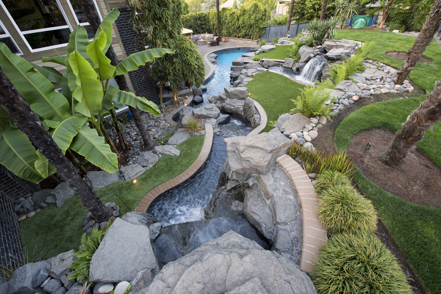 Inground Pool Backyard Design