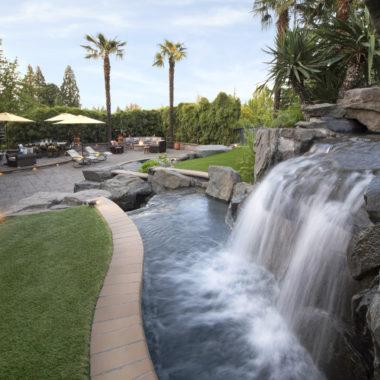 Inground Pool Backyard Design