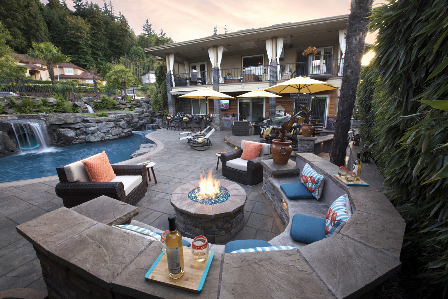 Firepit in Landscape Design