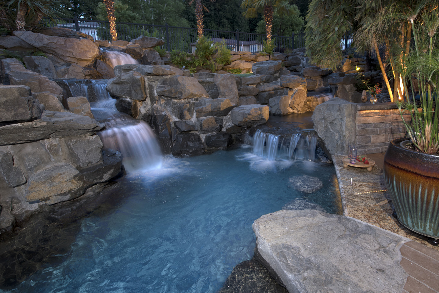 In Ground Pools Paradise Restored Landscaping