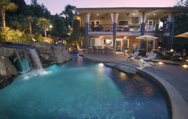 Outdoor Living & Pool Water Feature