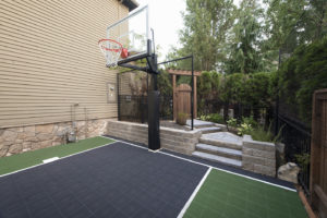 Sports Court in Landscape Design