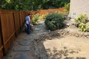 Before Construction - landscape design