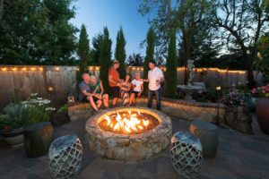 Outdoor Living Guy at Firepit