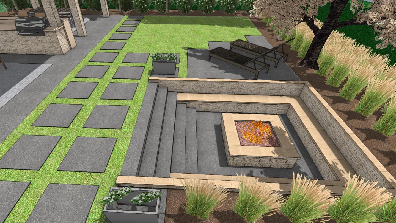 3d Landscape Design Paradise Restored Landscaping