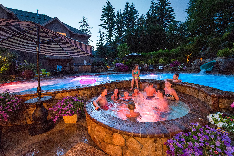 Inground Pools & Spas