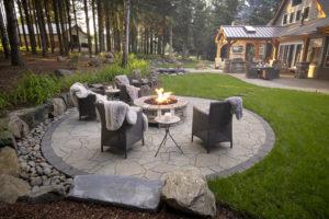 Modern Outdoor Firepit