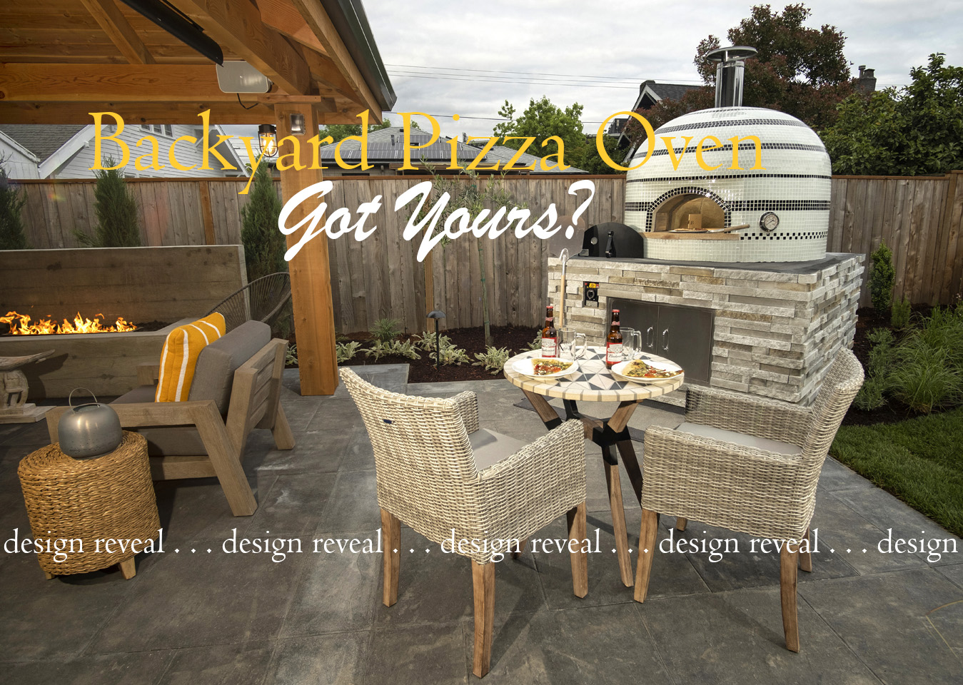 Outdoor Living/Pizza Oven