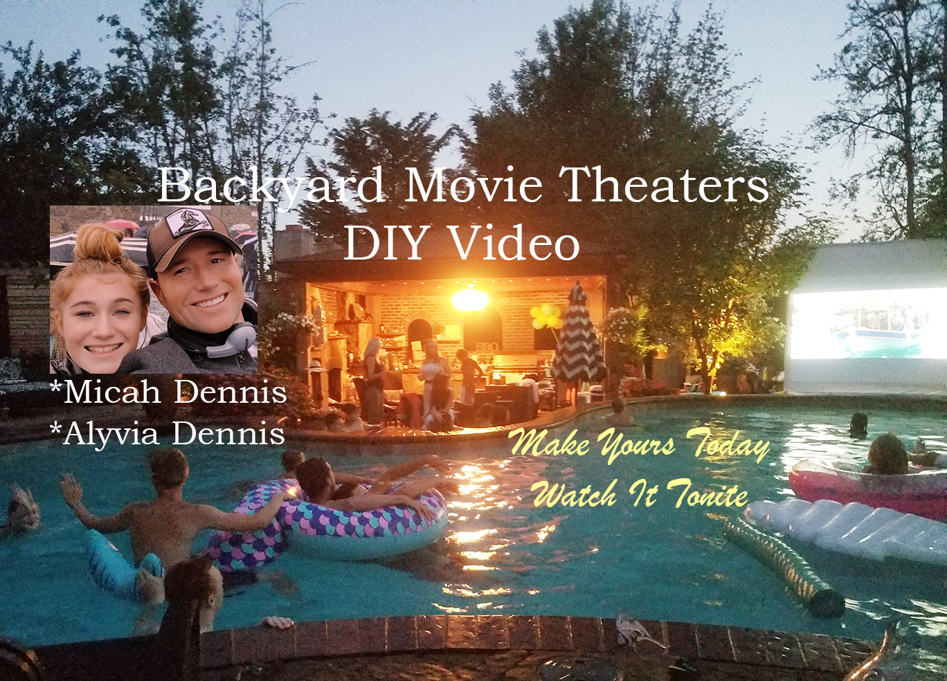 DYI Video Movie theatre