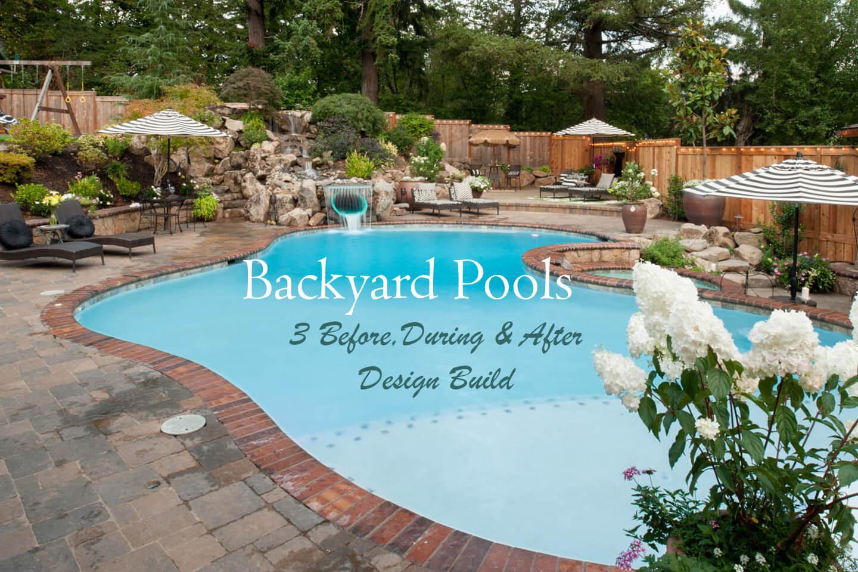 Backyard Pools Paradise Restored Landscaping