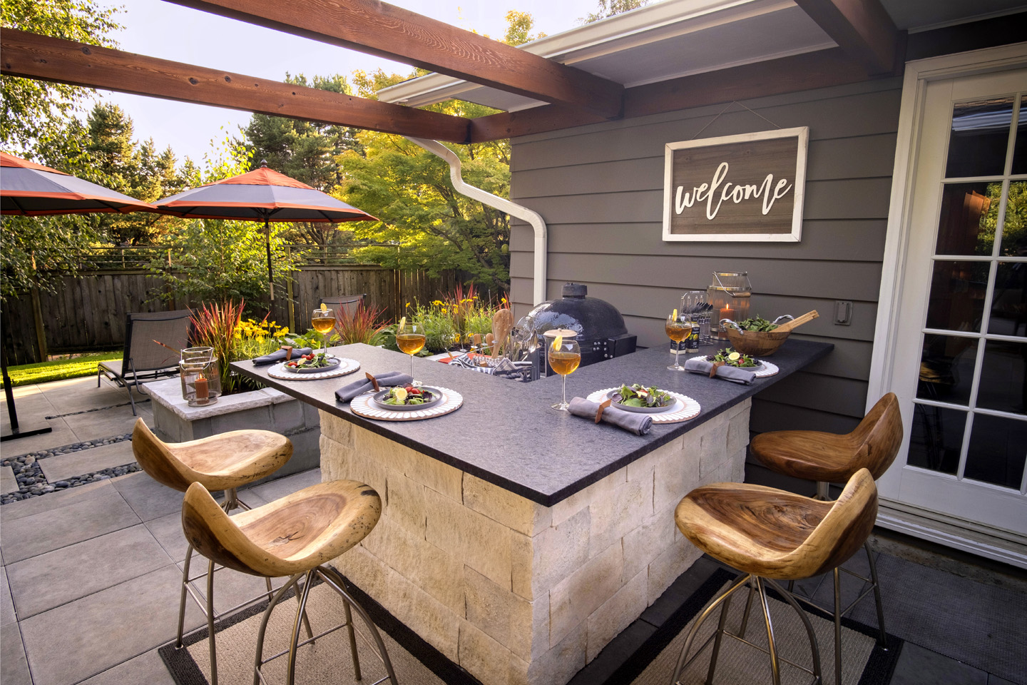 Outdoor Patio Ideas Paradise Restored Landscaping