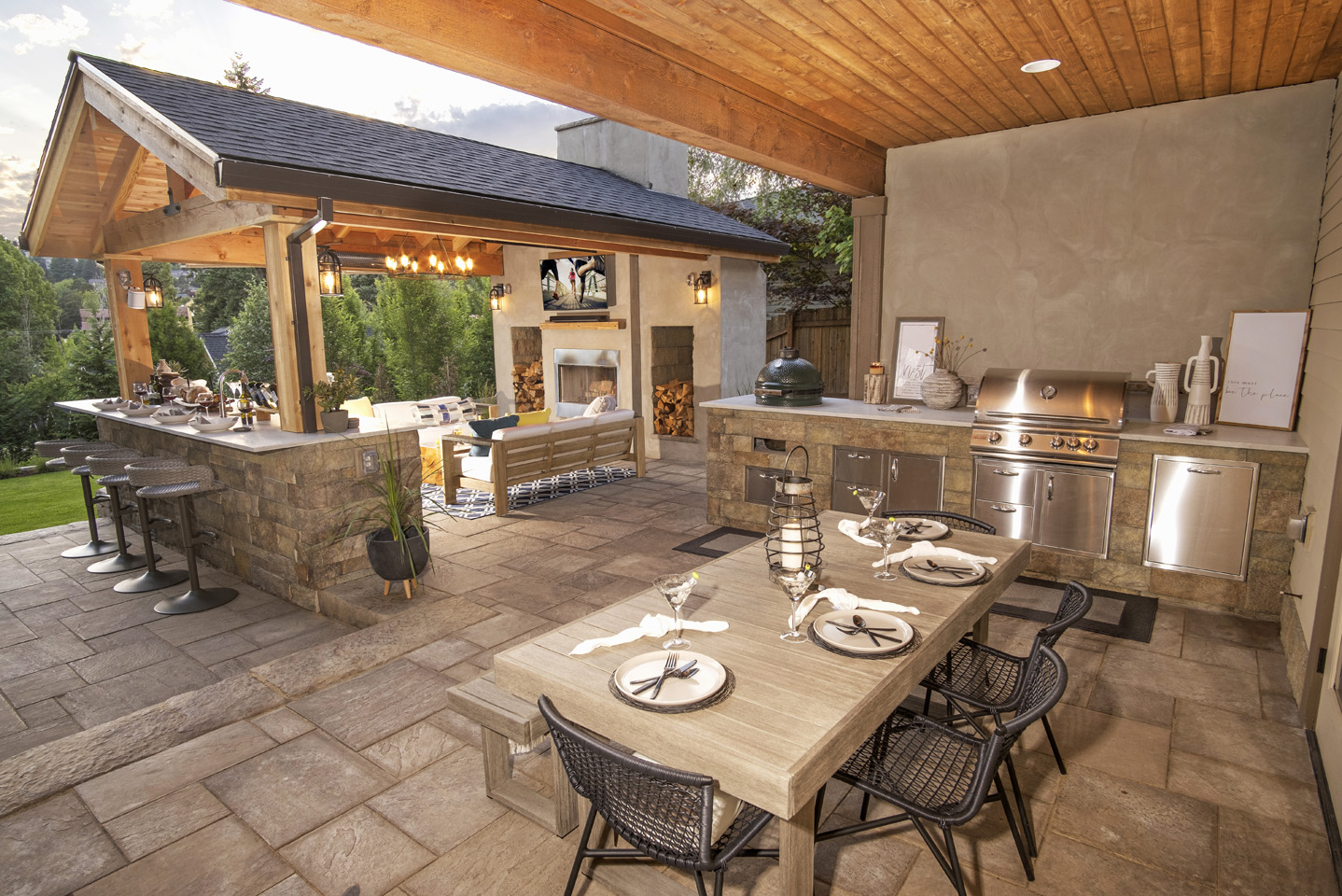 Outdoor Patio Ideas - Paradise Restored Landscaping