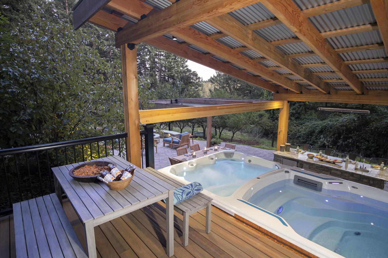 Swim-spa Landscape remodel