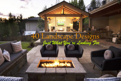40 Landscape Designs - Blog