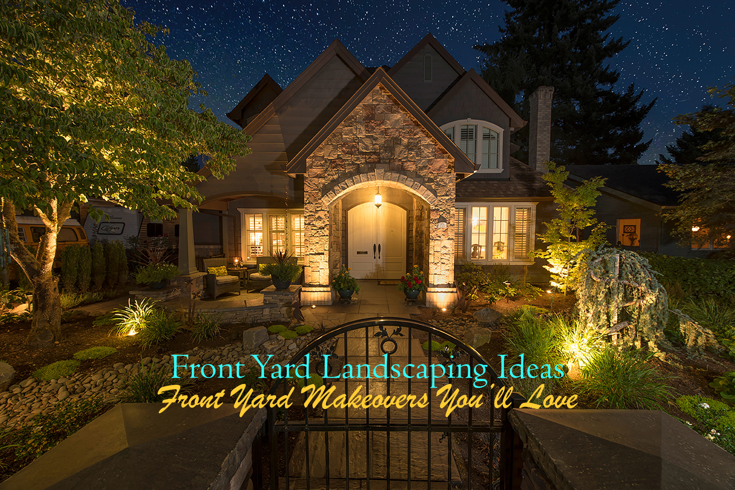 Front Yard Landscaping Ideas Paradise Restored Landscaping