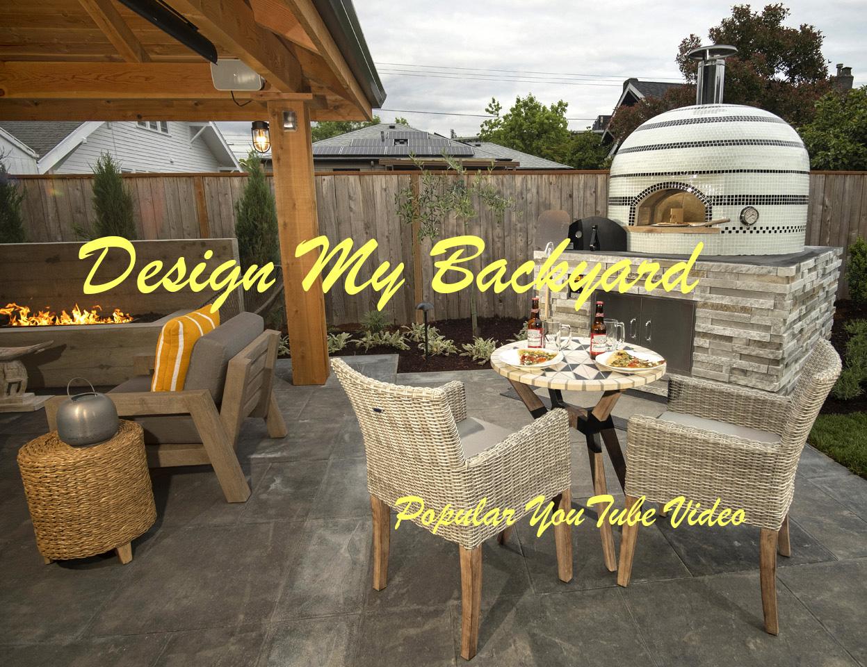 Design My Backyard Paradise Restored Landscaping