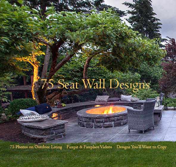 Seat Wall Designs Paradise Restored Landscaping