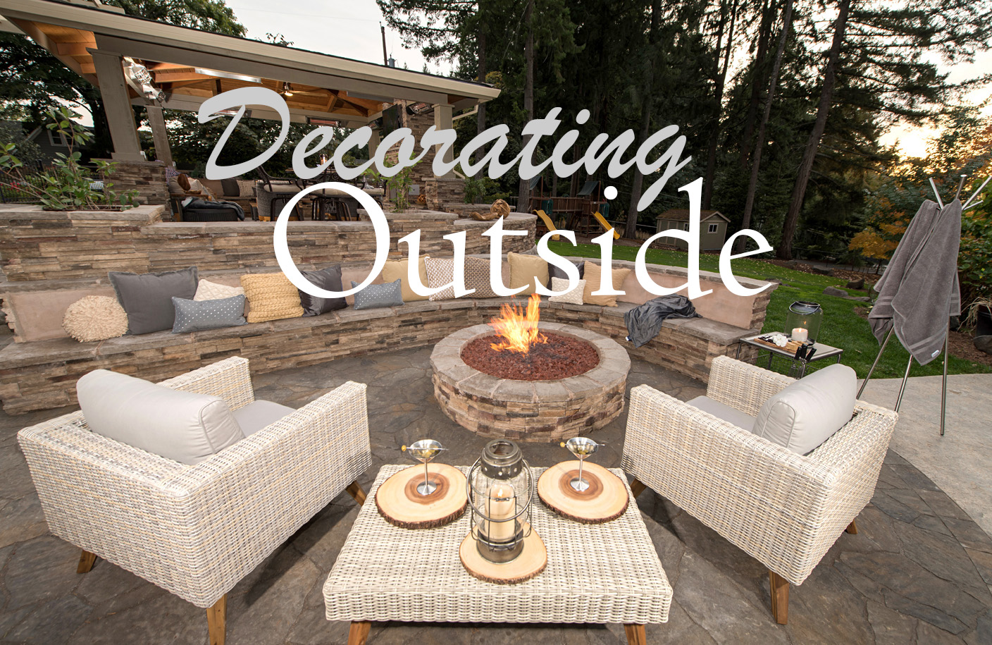Decorating Outdoors Paradise Restored Landscaping