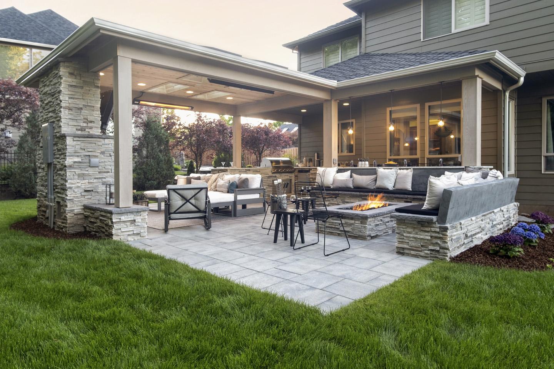 Outdoor Bar Ideas - Paradise Restored Landscaping on Backyard Bar id=45347