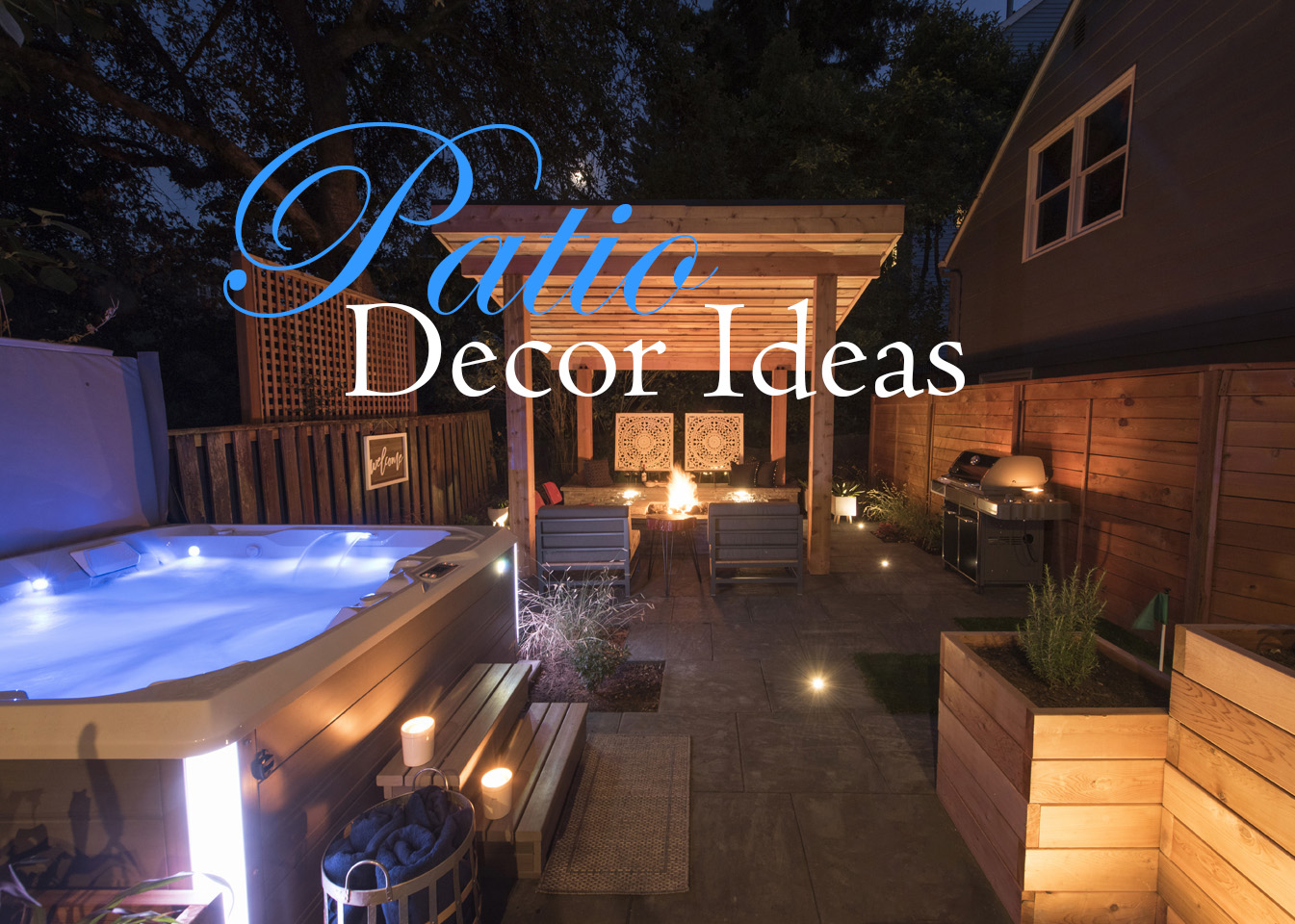 Patio Accessories - Paradise Restored Landscaping