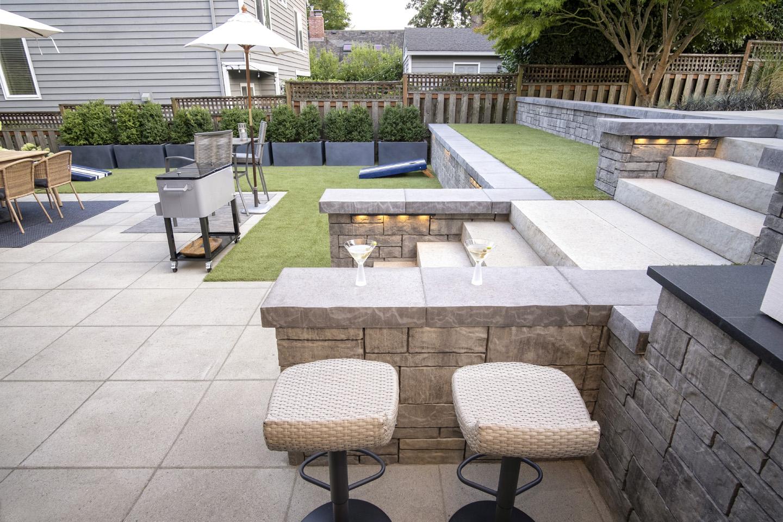 Mini Bar in yard